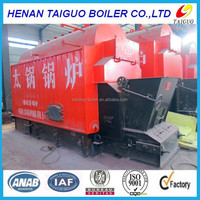 1ton /1t Industrial horizontal steam output coal,wood fired boiler price