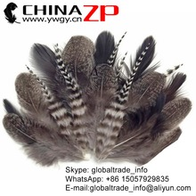 China supplier cheapest Dyed bulk Mixed Natural Grizzly Hen Loose Feather