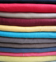 100% linen fabric natural greige linen fabric