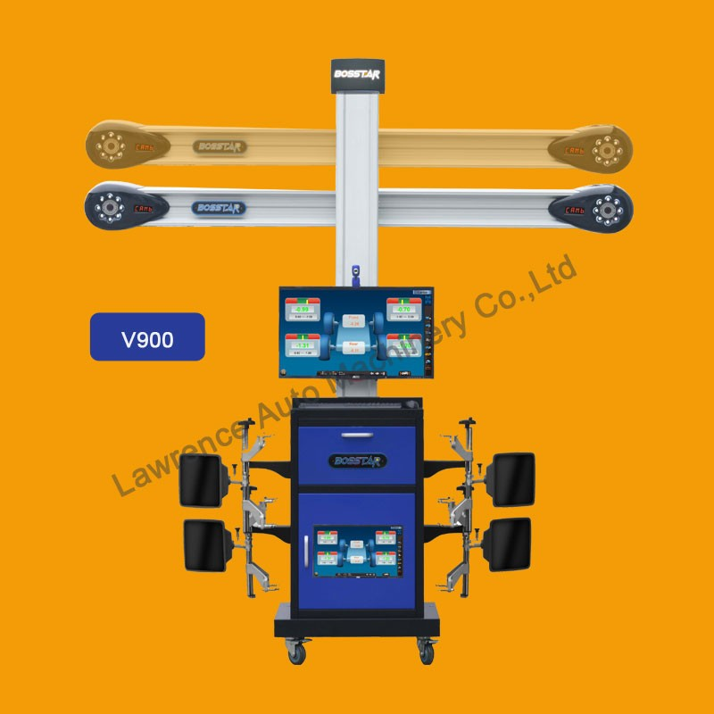 automotive equipment tools 3d computer wheel aligner with rich vehicle database