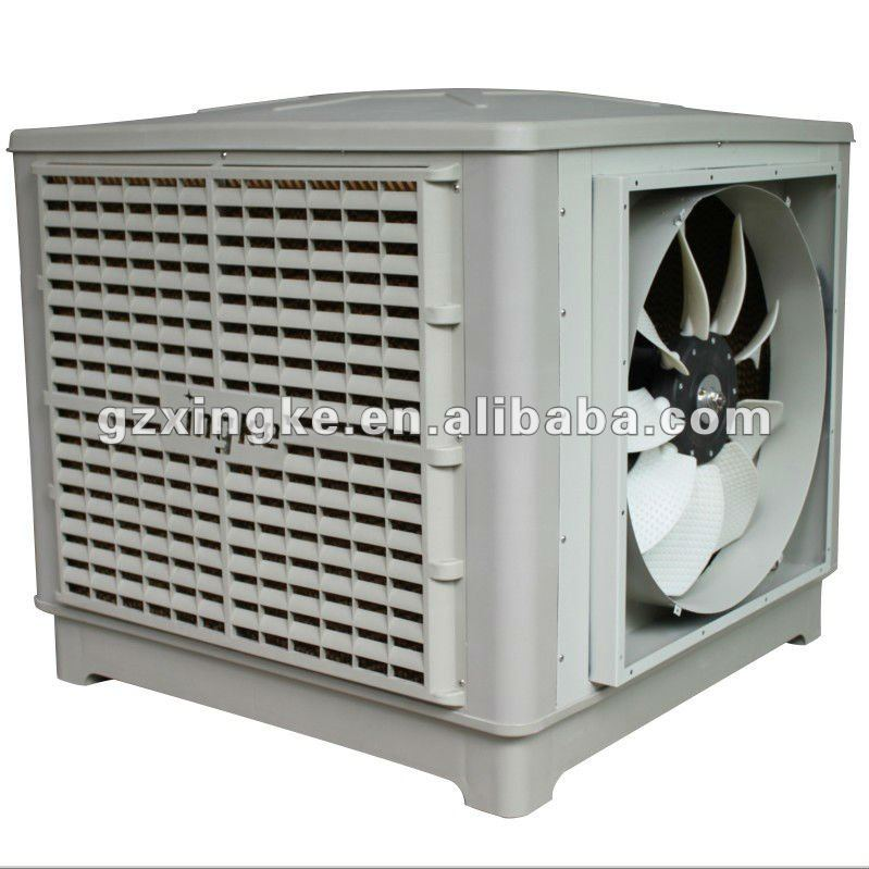 Rooftop evaporative air conditioning unit Air water cooling