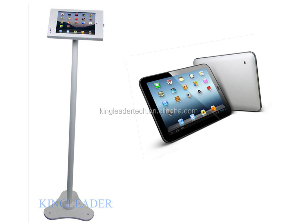 Super Silm Freestanding Android Tablet Kiosk Display