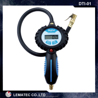 Pro digital tire inflator and gauge/tire inflation tools