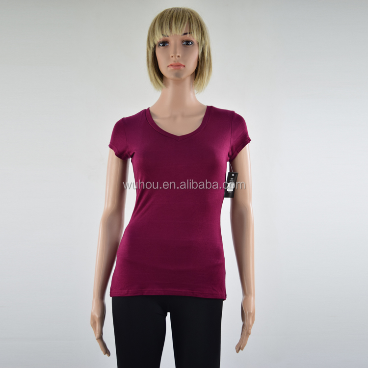 summer women fitness spandex custom t shirt blank clothes wholesale