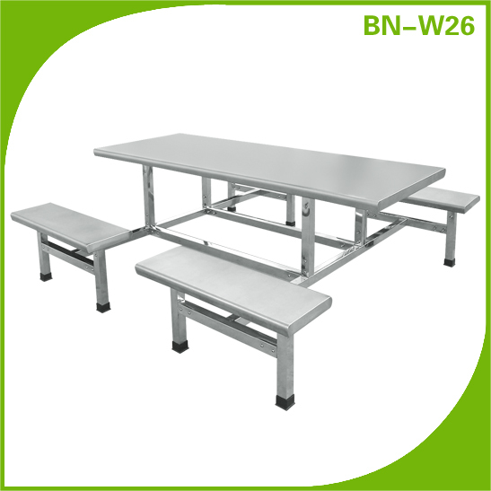 Outdoor Stainless Steel Park Leisure Bench/ Seating Bench BN-W26