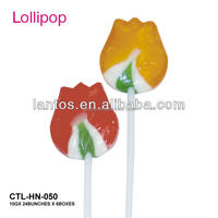 lollipop sweet with various flavors