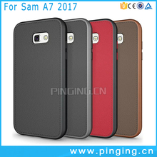 Hard Protect Bumper Thinnest Soft Rubber Back Cover Phone Case For Samsung Galaxy A7 2017