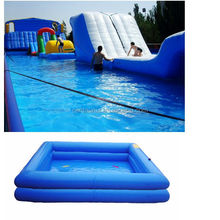 Pool, Inflatable pool outdoor rubber swimming pool with 0.9mm PVC Tarpaulin