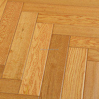 Antique OAK Herringbone Engineered Solid Wood Flooring 2mm Oak