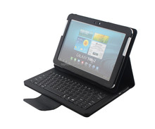 Litchi Pattern New design bluetooth mini keyboard with touchpad for Samsung Tab2 10.1inch P7510/5100-SA105