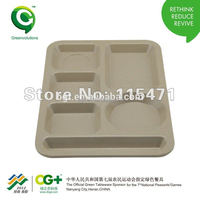 Hot Sale Rice Husk Mess Tray
