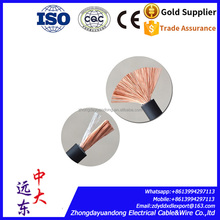 Flexible 100% pure copper conductor RUBBER sheathed H01N2-D YH welding cable