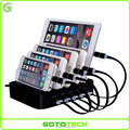 2017 Amazon hotselling new style 5 port usb charging station