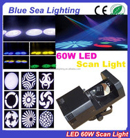 2015 hotsale 60w white light 3d scanner led scanner light