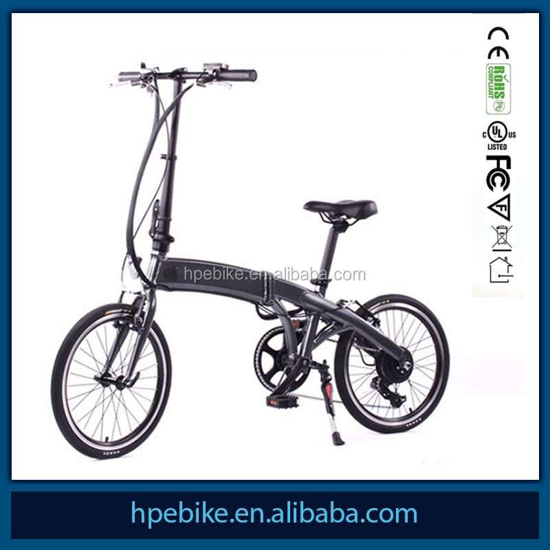 Hangpai 36v 250w motor 20 inch folding electric bike lithium battery for green power electric bike