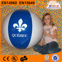 wholesale Giant pvc free Inflatable Beach Ball with logo printing