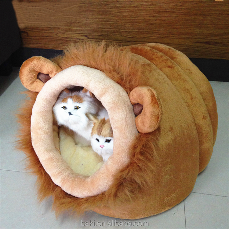 Wholesale Cute Puppy Beds Soft Cotton Pet Bed Folding Cat Bed