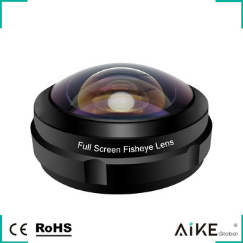 Wholesale Dual Purpose Clip-On Full Screen 238 degree Fisheye Lens Super Wide Angle Lens Cell Phone Camera Lenses