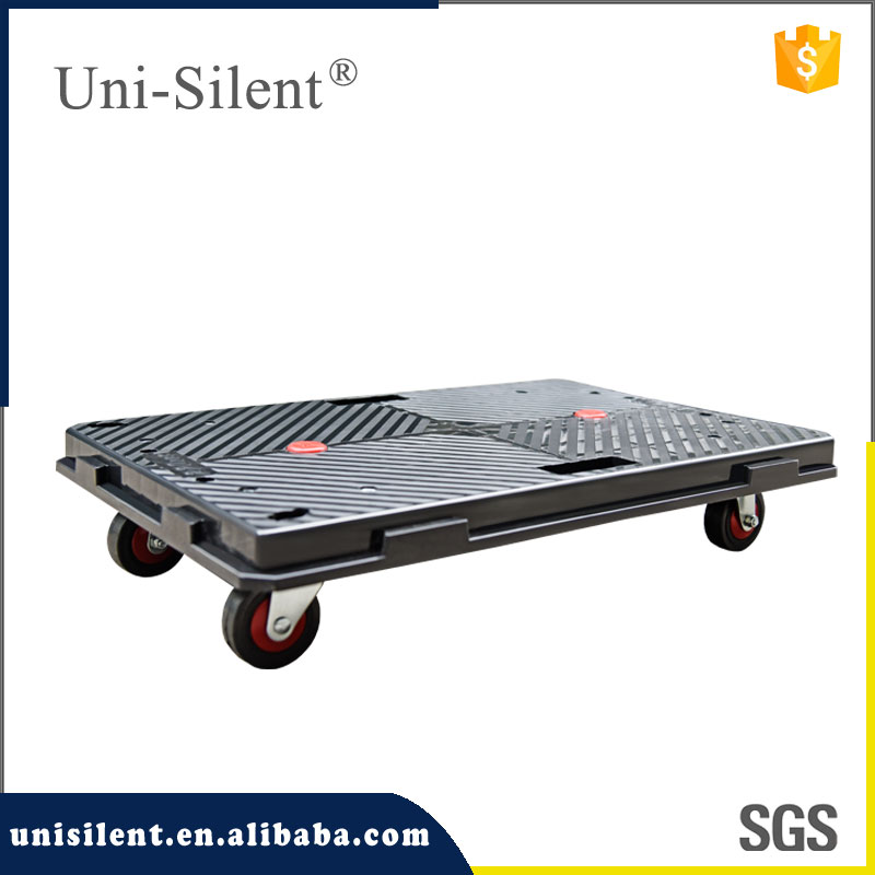 China professional manufacturer moving cart interlocking plastic dolly
