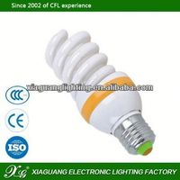 Spiral CFL LED Factory Nice Color Rendering Index Full Spiral save energy lamp