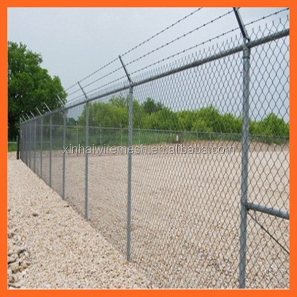 High quality temporary fence / powder coated chain link fencing / welded mesh fence for sale in Australia