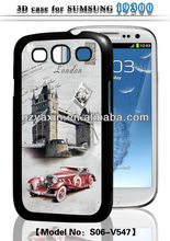 New design 3d silicone case for samsung galaxy s3,3d cute case for samsung galaxy s3