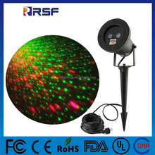 remote control high brightness waterproof landscape laser garden light with spikes