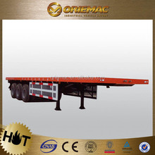 40ft container semi trailer truck for heavy(flatbed optional)with twist lock for sale germany