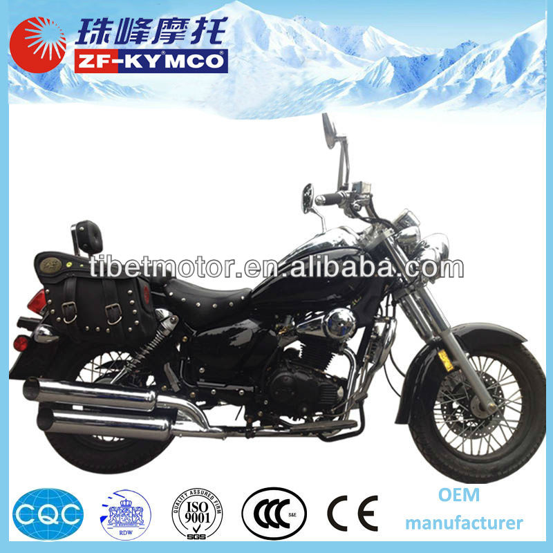 China cheap gas new 125cc chopper for sale(ZF250-6A)
