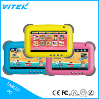Hottest selling multi languages 7inch high quality kids tablet smart touch china tablet supplier