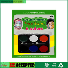 Non Toxing Face Paint Set Children/Kids Birthday Party Make-Up 6 Color PK