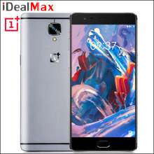 "Original Oneplus 3 Cell Phone 6GB RAM 64GB ROM Snapdragon 820 Android 6.0 Camera 16.0MP 5.5"" FHD Fingerprint ID Dash Charge NFC"