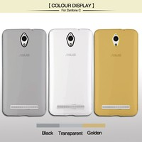 Slim Clear Transparent TPU Phone Case For Zenfone C With Camera Lens