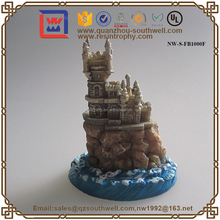 Resin Gifts 3D Building Figurine For Souvenir Mini Building Statues