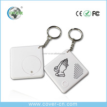 customized recording Sound effect Keychain /voice Keychain /mini voice recorderFor promotion gift