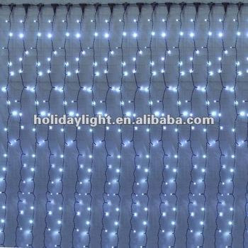 2012 CE RoHS outdoor use twinkle light curtain