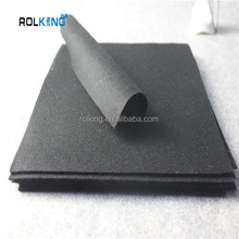 High Quality black Sheep Wool Felt