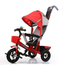 New arrival 4 in 1 baby trike for sale low price steel trike for kids baby tricycle 3 in 1
