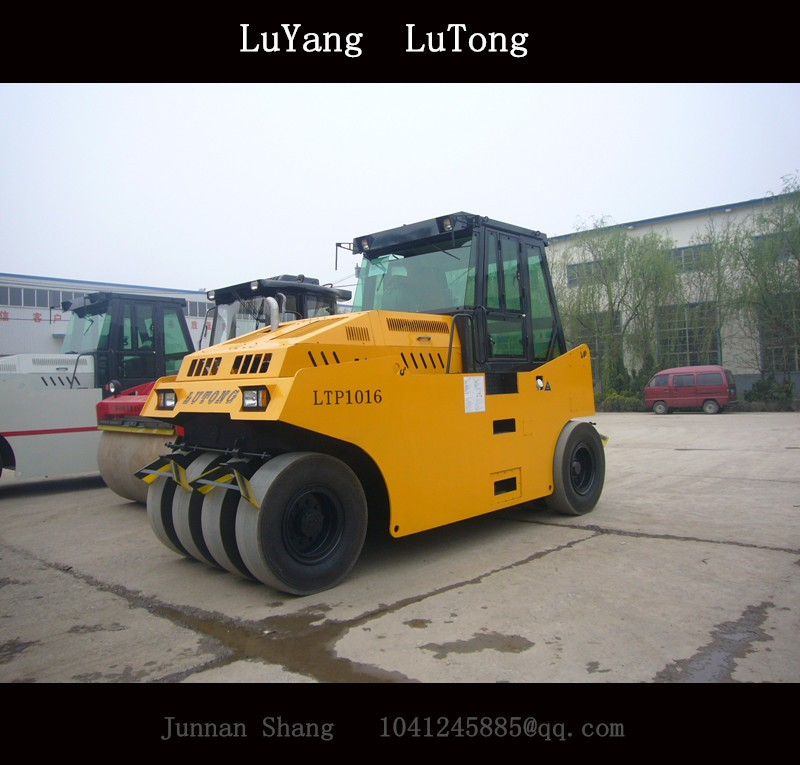 10-16ton Hydraulic Pneumatic Tire Roller
