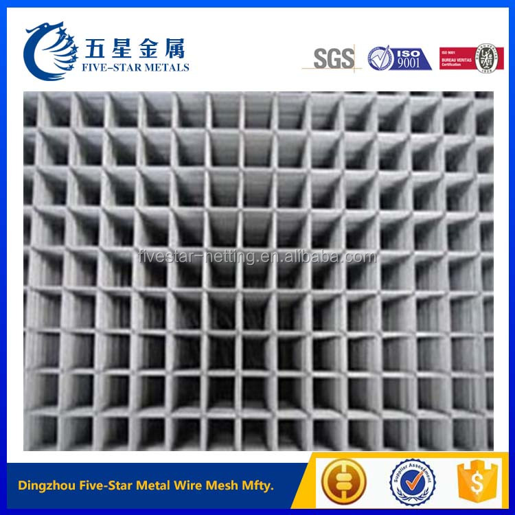 cheap 3x3 galvanized welded wire mesh panel for construction