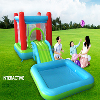 Amusement colorful high quality inflatable bounce house castle,children equipment