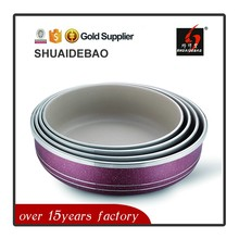 Factory directly sell european enamel coated cookware china supplier
