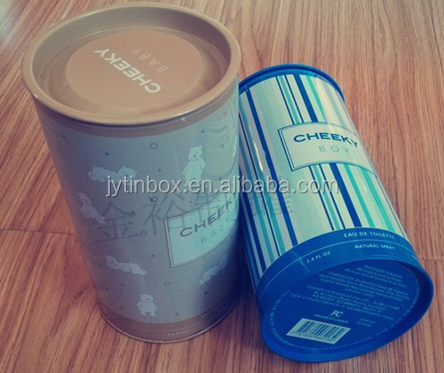 Wholesale price Round tin cans for package, tea package round tin can