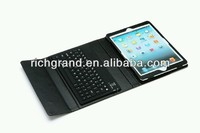 For Ipad Air bluetooth keyboard leather case High quality