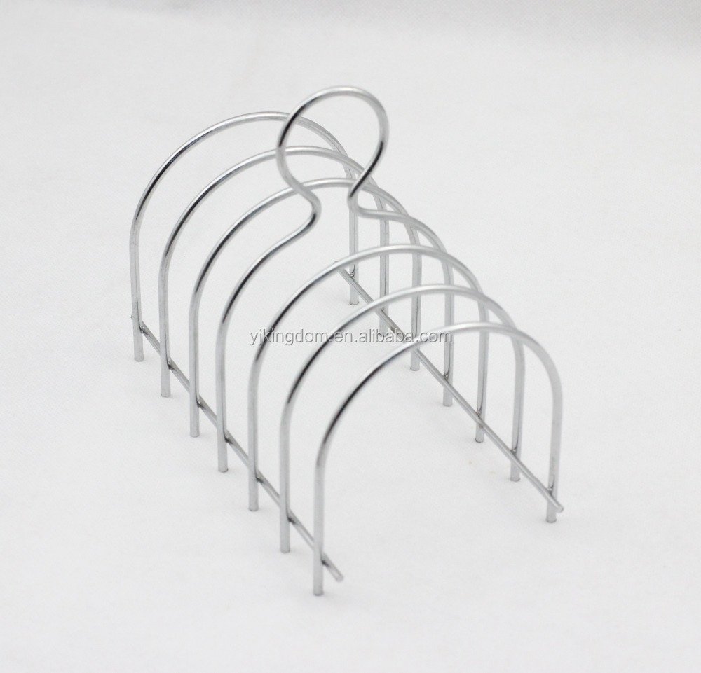 536-77B wire Bread Toast Rack with chrome plate