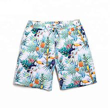 Custom sublimation printed design your own fashion couple swimwear beachwear shorts for <strong>men</strong> and women