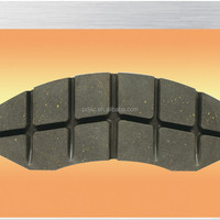 Train Brake Pad Brake Block Brake