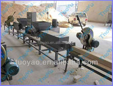 wood pallet block making machine/wood feet extruder