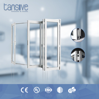 Tansive construction double glazed as2047 Aluminum Material jakarta factory folding door