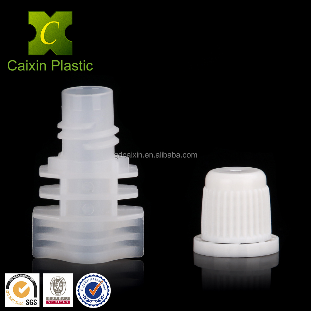 Hot sale 8.2mm double-layer Plastic Screw Cap for Oil Spout